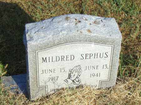 SEPHUS, MILDRED - Pulaski County, Arkansas | MILDRED SEPHUS - Arkansas Gravestone Photos