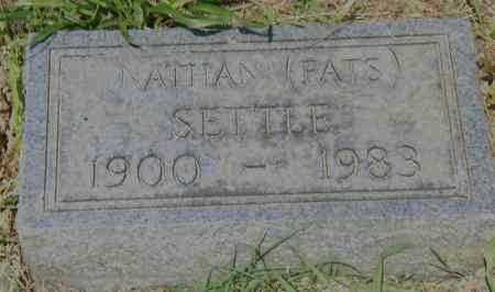 SETTLE, NATHAN (FATS) - Pulaski County, Arkansas | NATHAN (FATS) SETTLE - Arkansas Gravestone Photos