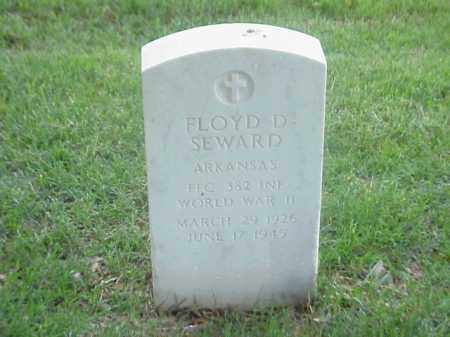 SEWARD (VETERAN WWII), FLOYD D - Pulaski County, Arkansas | FLOYD D SEWARD (VETERAN WWII) - Arkansas Gravestone Photos