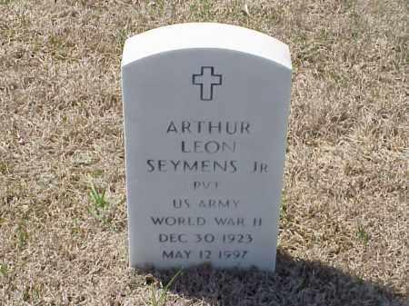 SEYMENS, JR (VETERAN WWII), ARTHUR LEON - Pulaski County, Arkansas | ARTHUR LEON SEYMENS, JR (VETERAN WWII) - Arkansas Gravestone Photos
