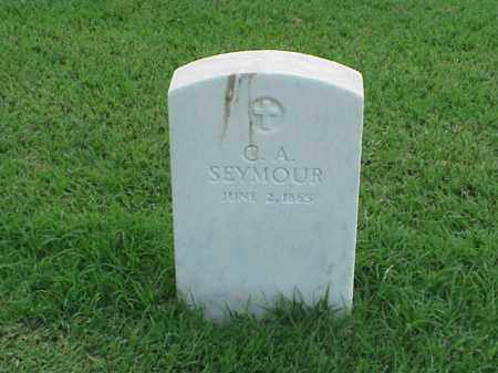 SEYMOUR, C A - Pulaski County, Arkansas | C A SEYMOUR - Arkansas Gravestone Photos