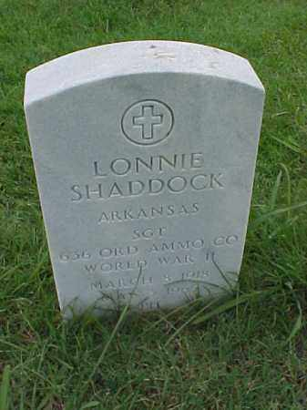 SHADDOCK (VETERAN WWII), LONNIE - Pulaski County, Arkansas | LONNIE SHADDOCK (VETERAN WWII) - Arkansas Gravestone Photos