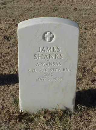 SHANKS (VETERAN WWI), JAMES - Pulaski County, Arkansas | JAMES SHANKS (VETERAN WWI) - Arkansas Gravestone Photos