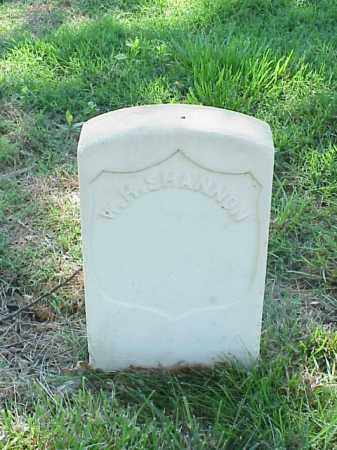 SHANNON (VETERAN UNION), W H - Pulaski County, Arkansas | W H SHANNON (VETERAN UNION) - Arkansas Gravestone Photos