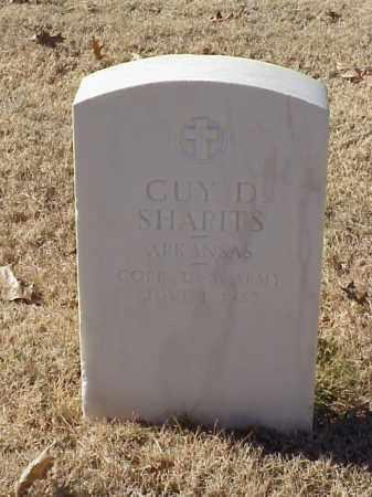 SHARITS (VETERAN WWI), GUY D - Pulaski County, Arkansas | GUY D SHARITS (VETERAN WWI) - Arkansas Gravestone Photos