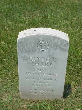 SHARP (VETERAN 3 WARS), CLYDE E - Pulaski County, Arkansas | CLYDE E SHARP (VETERAN 3 WARS) - Arkansas Gravestone Photos