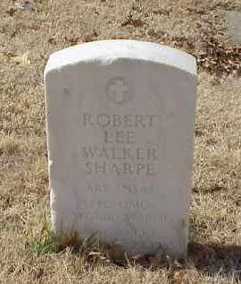 SHARP (VETERAN WWII), ROBERT LEE WALKER - Pulaski County, Arkansas | ROBERT LEE WALKER SHARP (VETERAN WWII) - Arkansas Gravestone Photos