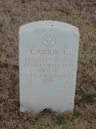 SHAUNTY, CARRIE L - Pulaski County, Arkansas | CARRIE L SHAUNTY - Arkansas Gravestone Photos