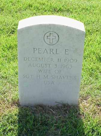 SHAVERS, PEARL E - Pulaski County, Arkansas | PEARL E SHAVERS - Arkansas Gravestone Photos