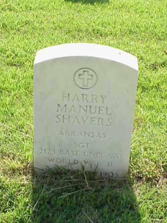 SHAVERS (VETERAN WWII), HARRY MANUEL - Pulaski County, Arkansas   HARRY MANUEL SHAVERS (VETERAN WWII) - Arkansas Gravestone Photos