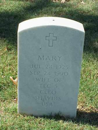 SHAVIRS, MARY - Pulaski County, Arkansas | MARY SHAVIRS - Arkansas Gravestone Photos