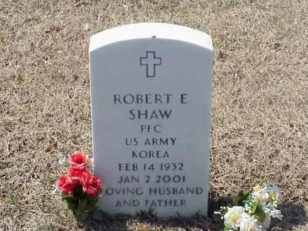 SHAW (VETERAN KOR), ROBERT E - Pulaski County, Arkansas | ROBERT E SHAW (VETERAN KOR) - Arkansas Gravestone Photos