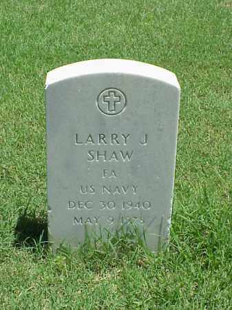 SHAW (VETERAN), LARRY J - Pulaski County, Arkansas | LARRY J SHAW (VETERAN) - Arkansas Gravestone Photos