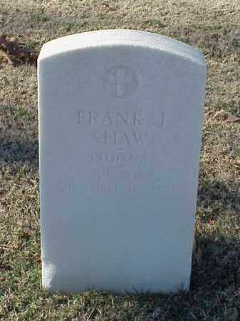 SHAW (VETERAN UNION), FRANK J - Pulaski County, Arkansas | FRANK J SHAW (VETERAN UNION) - Arkansas Gravestone Photos