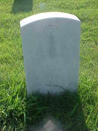 SHAW (VETERAN WWI), ELLIS M - Pulaski County, Arkansas | ELLIS M SHAW (VETERAN WWI) - Arkansas Gravestone Photos