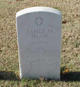 SHAW (VETERAN WWI), JAMES M - Pulaski County, Arkansas | JAMES M SHAW (VETERAN WWI) - Arkansas Gravestone Photos
