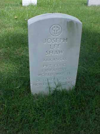 SHAW (VETERAN WWII), JOSEPH LEE - Pulaski County, Arkansas | JOSEPH LEE SHAW (VETERAN WWII) - Arkansas Gravestone Photos