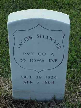 SHAWVER (VETERAN UNION), JACOB - Pulaski County, Arkansas | JACOB SHAWVER (VETERAN UNION) - Arkansas Gravestone Photos