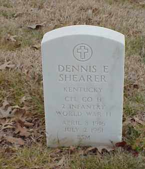 SHEARER  (VETERAN WWII), DENNIS E - Pulaski County, Arkansas | DENNIS E SHEARER  (VETERAN WWII) - Arkansas Gravestone Photos