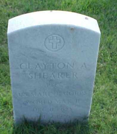 SHEARER (VETERAN WWII), CLAYTON A - Pulaski County, Arkansas | CLAYTON A SHEARER (VETERAN WWII) - Arkansas Gravestone Photos