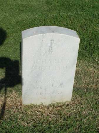 SHEFFIELD (VETERAN), RICHARD A - Pulaski County, Arkansas | RICHARD A SHEFFIELD (VETERAN) - Arkansas Gravestone Photos