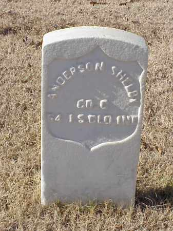 SHELBY (VETERAN UNION), ANDERSON - Pulaski County, Arkansas | ANDERSON SHELBY (VETERAN UNION) - Arkansas Gravestone Photos