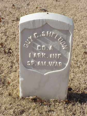 SHELDON (VETERAN SAW), GUY C - Pulaski County, Arkansas | GUY C SHELDON (VETERAN SAW) - Arkansas Gravestone Photos
