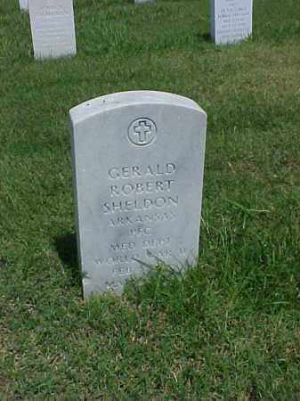 SHELDON (VETERAN WWII), GERALD ROBERT - Pulaski County, Arkansas | GERALD ROBERT SHELDON (VETERAN WWII) - Arkansas Gravestone Photos