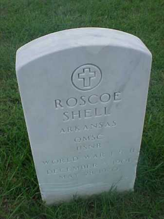 SHELL (VETERAN 2 WARS), ROSCOE - Pulaski County, Arkansas | ROSCOE SHELL (VETERAN 2 WARS) - Arkansas Gravestone Photos