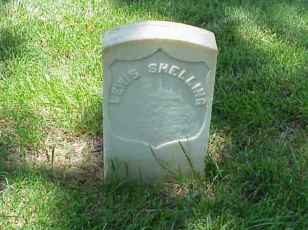SHELLING (VETERAN UNION), LEWIS - Pulaski County, Arkansas   LEWIS SHELLING (VETERAN UNION) - Arkansas Gravestone Photos