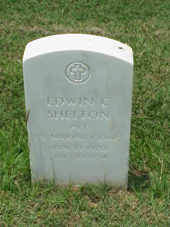 SHELTON (VETERAN WWII), EDWIN C - Pulaski County, Arkansas | EDWIN C SHELTON (VETERAN WWII) - Arkansas Gravestone Photos