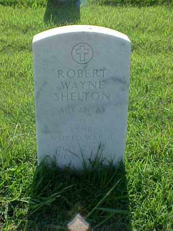 SHELTON (VETERAN WWII), ROBERT WAYNE - Pulaski County, Arkansas | ROBERT WAYNE SHELTON (VETERAN WWII) - Arkansas Gravestone Photos