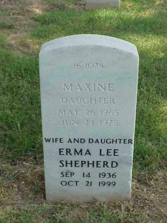 SHEPHERD, MAXINE - Pulaski County, Arkansas | MAXINE SHEPHERD - Arkansas Gravestone Photos