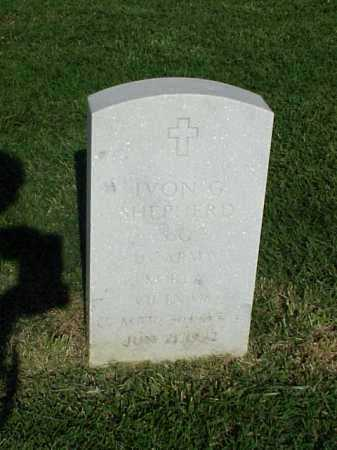 SHEPHERD (VETERAN 2 WARS), IVON G - Pulaski County, Arkansas | IVON G SHEPHERD (VETERAN 2 WARS) - Arkansas Gravestone Photos