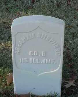 SHEPHERD (VETERAN UNION), ABRAHAM - Pulaski County, Arkansas | ABRAHAM SHEPHERD (VETERAN UNION) - Arkansas Gravestone Photos