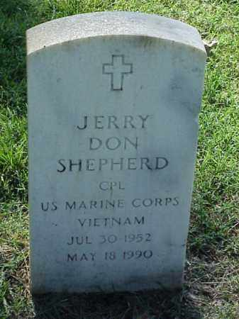 SHEPHERD (VETERAN VIET), JERRY DON - Pulaski County, Arkansas | JERRY DON SHEPHERD (VETERAN VIET) - Arkansas Gravestone Photos