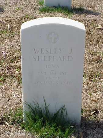 SHEPPARD (VETERAN WWI), WESLEY J - Pulaski County, Arkansas | WESLEY J SHEPPARD (VETERAN WWI) - Arkansas Gravestone Photos