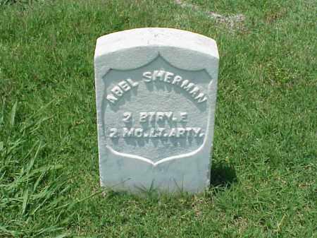 SHERMAN (VETERAN UNION), ABEL - Pulaski County, Arkansas | ABEL SHERMAN (VETERAN UNION) - Arkansas Gravestone Photos