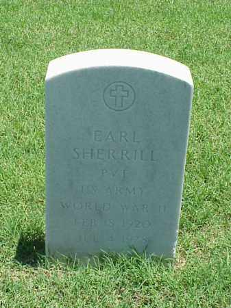 SHERRILL (VETERAN WWII), EARL - Pulaski County, Arkansas | EARL SHERRILL (VETERAN WWII) - Arkansas Gravestone Photos