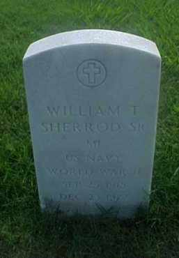 SHERROD, SR (VETERAN WWII), WILLIAM T - Pulaski County, Arkansas | WILLIAM T SHERROD, SR (VETERAN WWII) - Arkansas Gravestone Photos