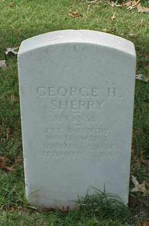SHERRY (VETERAN WWI), GEORGE H - Pulaski County, Arkansas | GEORGE H SHERRY (VETERAN WWI) - Arkansas Gravestone Photos