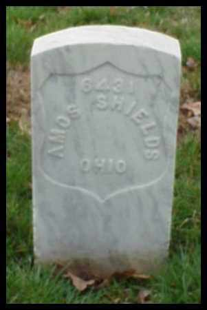 SHIELDS (VETERAN UNION), AMOS - Pulaski County, Arkansas | AMOS SHIELDS (VETERAN UNION) - Arkansas Gravestone Photos