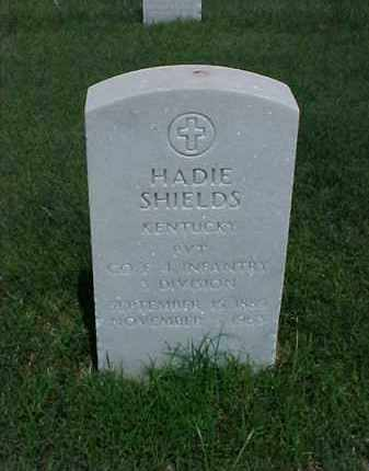SHIELDS (VETERAN), HADIE - Pulaski County, Arkansas | HADIE SHIELDS (VETERAN) - Arkansas Gravestone Photos