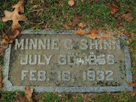"SHINN, MILDRED CARLETON ""MINNIE"" - Pulaski County, Arkansas 