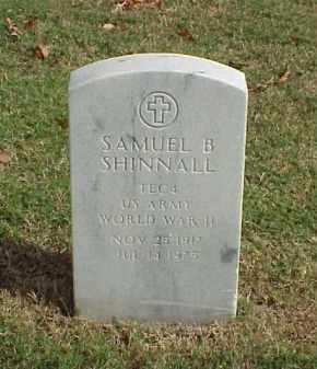 SHINNALL (VETERAN WWII), SAMUEL B - Pulaski County, Arkansas | SAMUEL B SHINNALL (VETERAN WWII) - Arkansas Gravestone Photos
