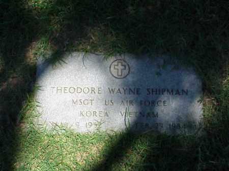 SHIPMAN (VETERAN 2 WARS), THEODORE WAYNE - Pulaski County, Arkansas | THEODORE WAYNE SHIPMAN (VETERAN 2 WARS) - Arkansas Gravestone Photos