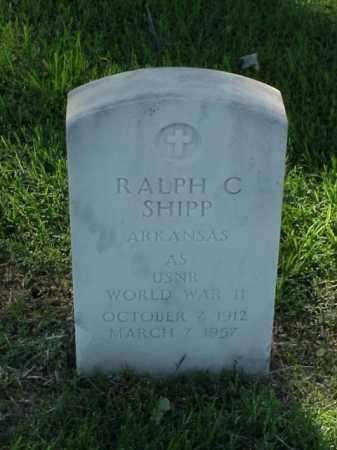 SHIPP (VETERAN WWII), RALPH C - Pulaski County, Arkansas | RALPH C SHIPP (VETERAN WWII) - Arkansas Gravestone Photos