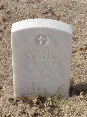 SHIRLEY (VETERAN WWII), WALTER WILLIAM - Pulaski County, Arkansas | WALTER WILLIAM SHIRLEY (VETERAN WWII) - Arkansas Gravestone Photos