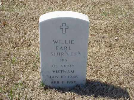 SHIRNES (VETERAN VIET), WILIE EARL - Pulaski County, Arkansas | WILIE EARL SHIRNES (VETERAN VIET) - Arkansas Gravestone Photos