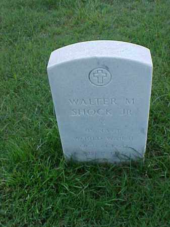 SHOCK, JR (VETERAN WWII), WALTER M - Pulaski County, Arkansas | WALTER M SHOCK, JR (VETERAN WWII) - Arkansas Gravestone Photos